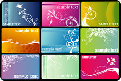 Flower vector banners Royalty Free Stock Images