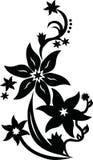 Flower vector design. Blossom flowering vector Stock Photography