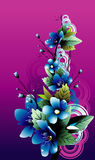 Flower vector illustration Stock Image