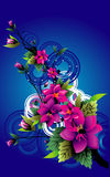 Flower vector illustration Stock Images
