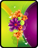 Flower vector illustration Stock Photography