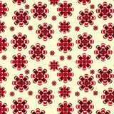 Flower vector pattern Stock Photography