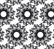 Flower Vector seamless pattern Royalty Free Stock Image