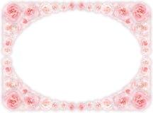 Flower vignette, framework Royalty Free Stock Photo