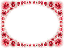 Flower vignette, framework Stock Image