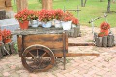 Flower Wagon Stock Photos