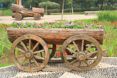 Flower Wagon Stock Photos