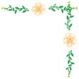 Flower wallpaper background. Flower wallpaper of frame on background Royalty Free Stock Photography