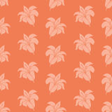 Flower wallpaper. In retro color style Royalty Free Stock Photography