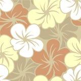 Flower wallpaper seamless Stock Photography