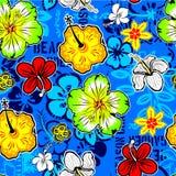 Flower wallpaper seamless Stock Image