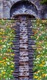 Flower water cascade Stock Photo
