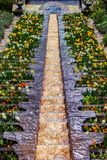 Flower water cascade Royalty Free Stock Image
