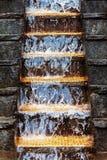 Flower water cascade Stock Image