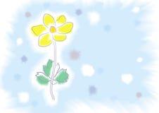 Flower watercolour Royalty Free Stock Photos