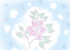Flower watercolour Stock Photo
