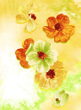 Flower watercolour painting Royalty Free Stock Photography