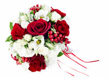Flower wedding bouquet for bride Stock Images