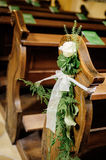 Flower wedding decoration Stock Photos