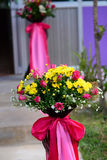Flower wedding party Royalty Free Stock Images