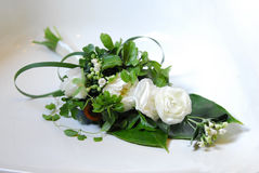 Flower. Wedding Flower Rose Blossom Bouquet Royalty Free Stock Photo