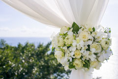 Flower in wedding setting. 