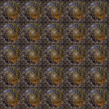 Flower Whirl Seamless Tile Royalty Free Stock Images