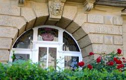 Flower, Window, Arch, Home Stock Photos
