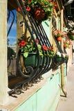 Flower windows Stock Photography