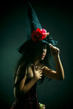 Flower witch Royalty Free Stock Photos