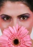 Flower woman Stock Photo