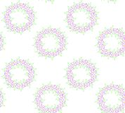 Flower wreath Royalty Free Stock Image