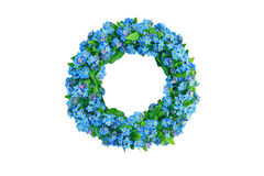 Flower wreath Royalty Free Stock Image