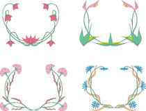 Flower wreaths Stock Photo