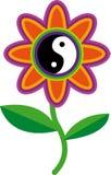 yin yang Flower zen roots royalty free stock photography