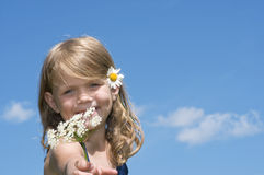 Flower for you! Stock Photos