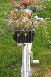 Flowerbad при цветки сделанные от велосипеда Стоковое фото RF