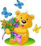 Flowerbear Royalty Free Stock Photography