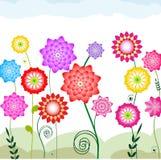 flowerbed Fotografia Stock