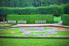 flowerbeds royalty-vrije stock foto