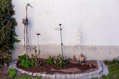 flowerbeds fotografia de stock royalty free