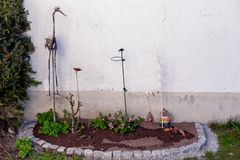 flowerbeds royalty-vrije stock fotografie