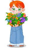 Flowerboy Stock Photo