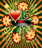 Flowerdisc Imagenes de archivo