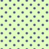 Flowered background green/blue stock photo