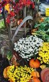 Flowered Bridge Royalty Free Stock Photography