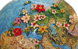 Flowered Europe Royalty Free Stock Images