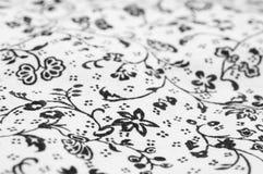 Flowered fabric Stock Photo
