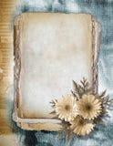 Flowered framework Royalty Free Stock Images