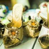 Flowered High Heels Stock Photography